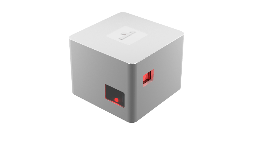oCube with red light